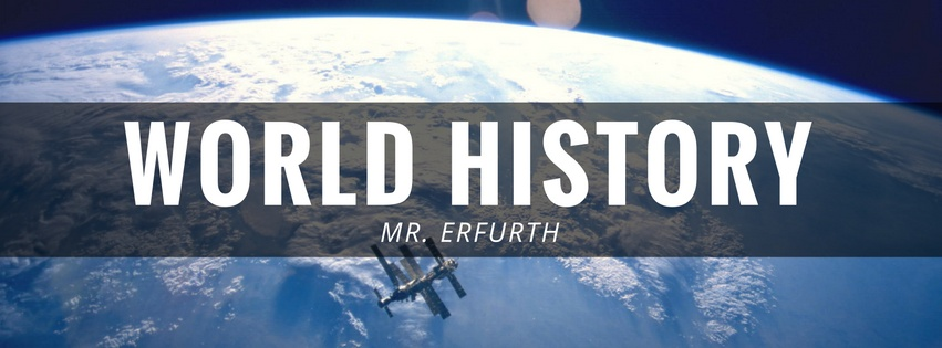 Mr. Erfurth's World History