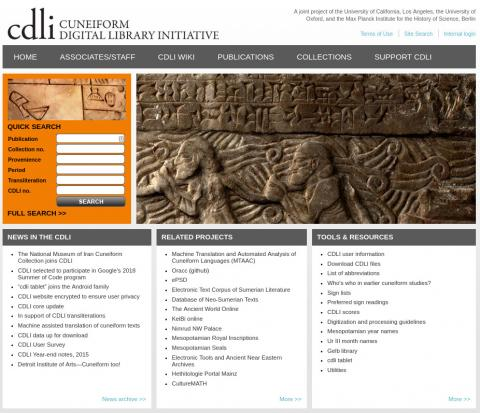 Cuneiform Digital Library Initiative