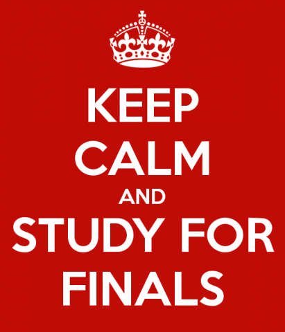 Keep Calm & Study for Finals